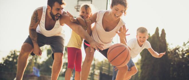 Zeit für die Familie: Wie Sie sich mit Ihren Kindern fit halten können
